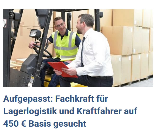 Fachkraft Lagerlogistik in  Eschbronn