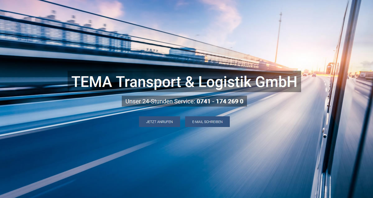 Kurierdienst Deißlingen: TEMA Transport & Logistik -Spedition