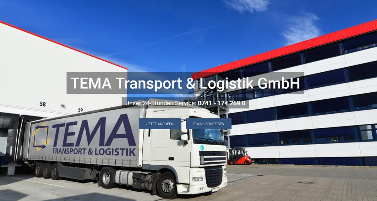 Kurierdienst Schopfloch: TEMA Transport & Logistik -DHL weltweit