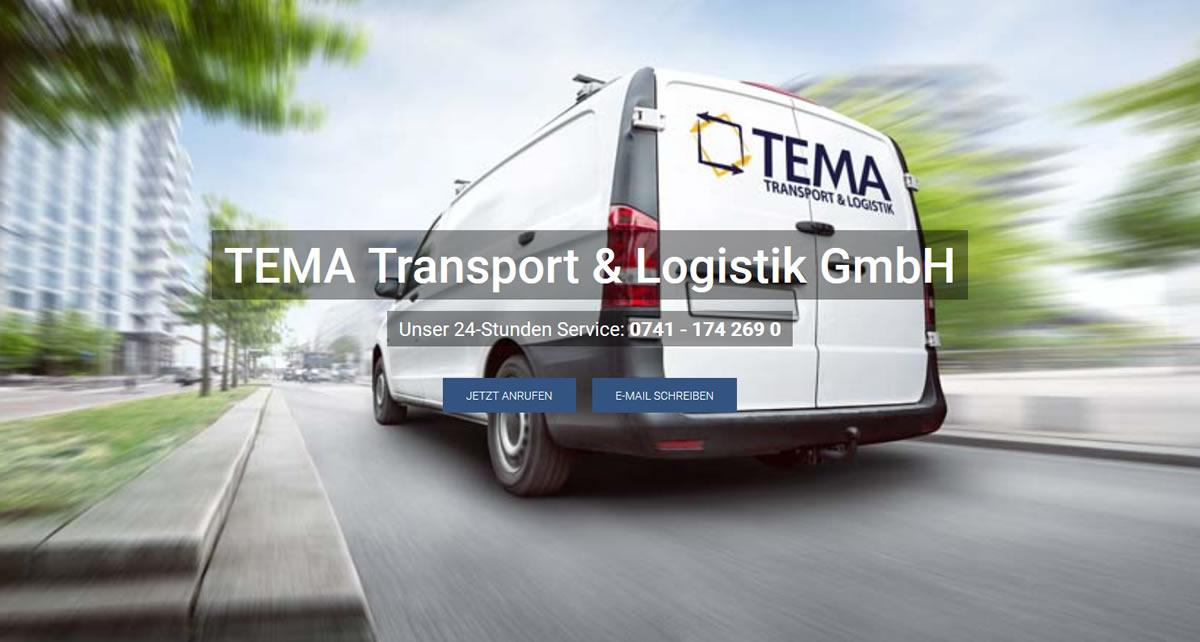 Kurierdienst Glatten: TEMA Transport & Logistik -Speditionen