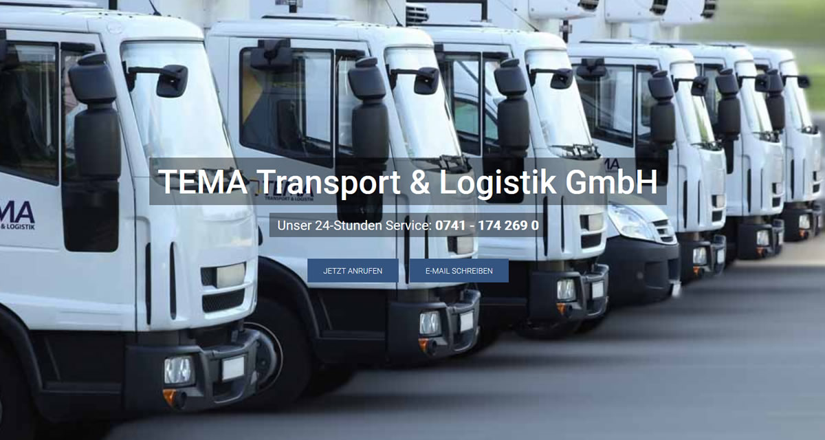 Kurierdienst Wellendingen: TEMA Transport & Logistik -Spedition
