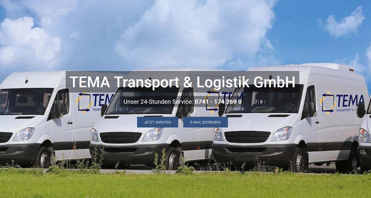 Kurierdienst Weilen (Rinnen): TEMA Transport & Logistik -Direkttransporte