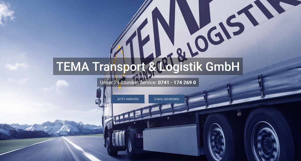 Kurierdienst Hausen (Verena): TEMA Transport & Logistik -Fahrservice