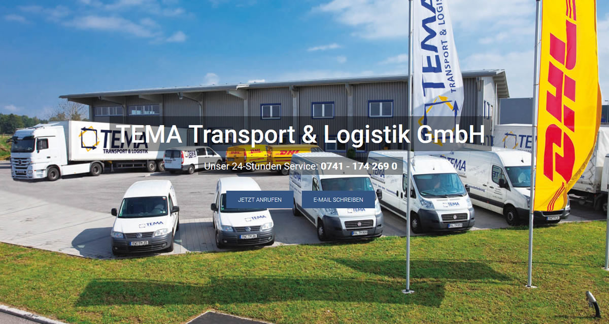 Kurierdienst Ratshausen: TEMA Transport & Logistik -Paket versenden