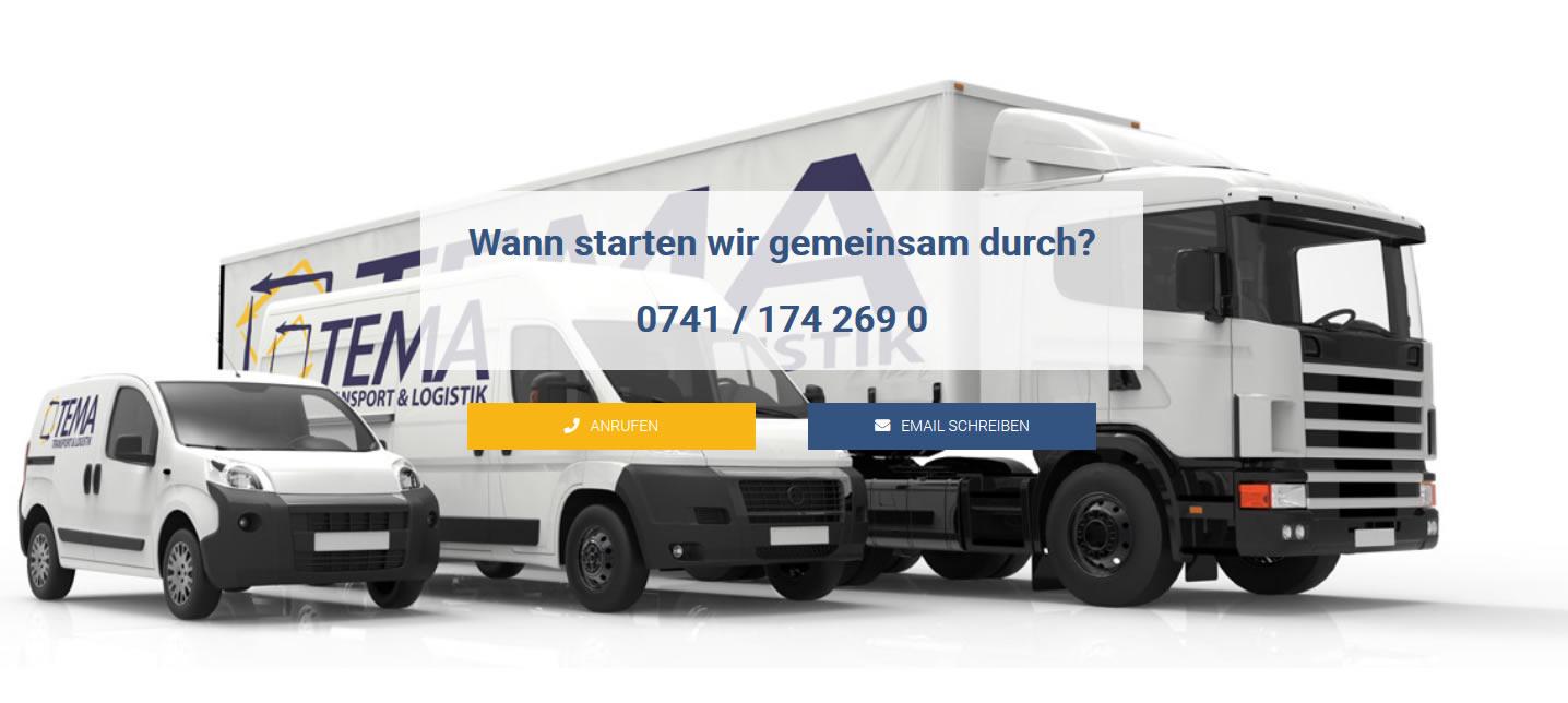 Kurier oder Transportservice gewünscht? Mailen Sie uns!
